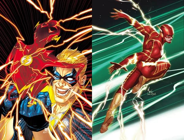 Kevin Shinick and Clayton Henry Take Over Flash Comic in October.