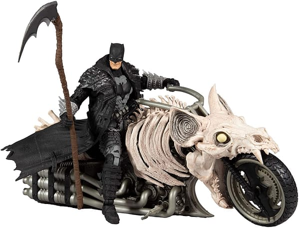 Batman Death Metal Batcycle Pre-Orders Arrive From McFarlane Toys