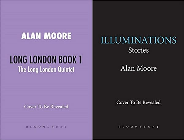 Bloomsbury Wins Alan Moore's Short Stories & Long London Novels At Auction