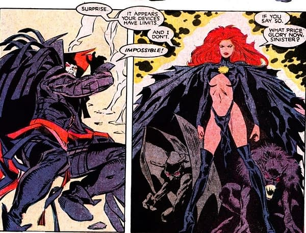 Madelyne Pryor defeats Sinister as the Goblin Queen