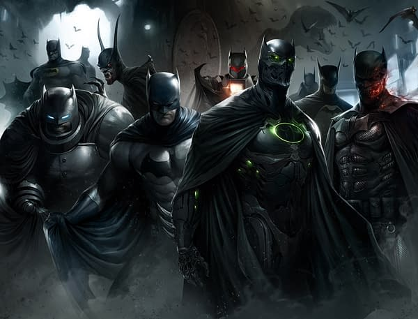 Looking at 'Inspiration' For Francesco Mattina's Detective Comics #1000 Exclusive Cover for Midtown Comics