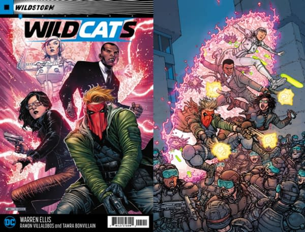 Warren Ellis and Ramon Villalobos Launches New Wildstorm Comic, Wildcats #1