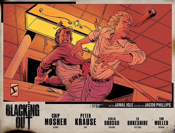 Peter Krause and Chip Mosher Launch 70s Grindhouse Noir Blacking Out.
