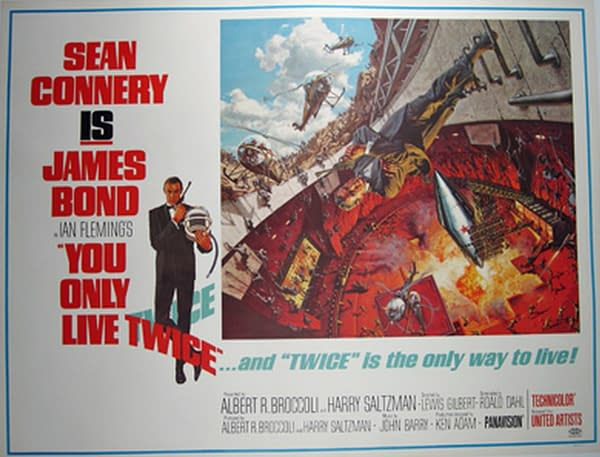 007 Bond Binge: You Only Live Twice aka Ninjas in Volcanoes