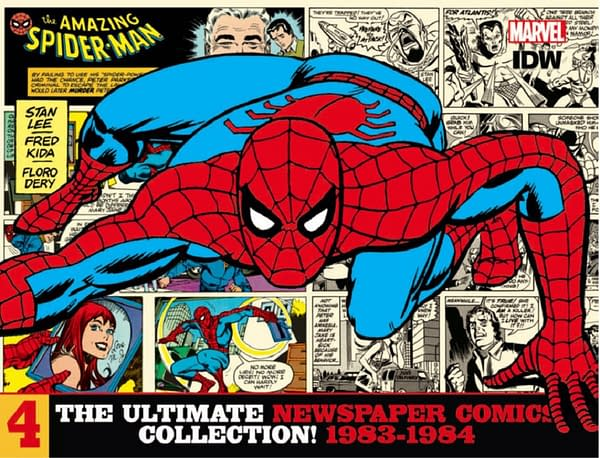 Bruce Canwell on The Amazing Spider-Man Newspaper Strip
