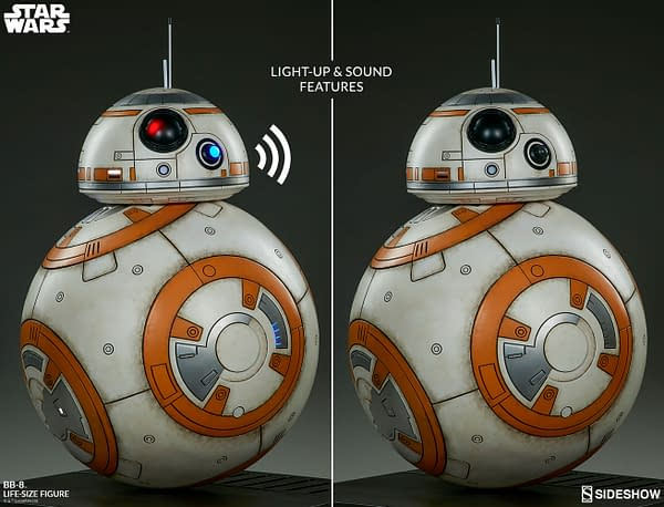 Sideshow Collectibles Star Wars Life Size BB-8 13