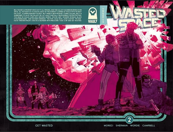 'Submerged' and 'Wasted Space' Go to Second and Third Printings from Vault Comics
