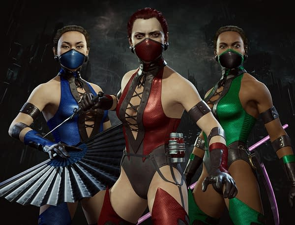 Ninjas, ninjas, everywhere, and not a place to hide. Courtesy of NetherRealm Studios.
