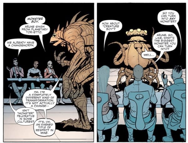 A Few Continuity Notes from Legion Of Super-Heroes #6 (Spoilers)