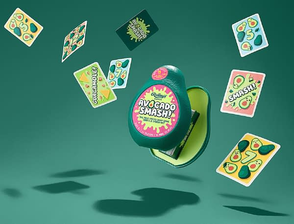 Avocado Smash, one of the games under Chronicle Books-owned property Ridley's Games.