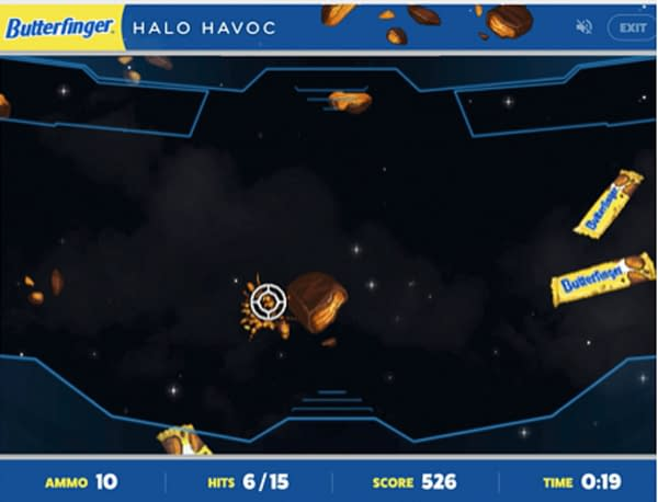 A look at Butterfinger Halo Havoc, courtesy of Twitch.