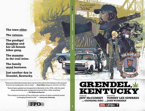 Grendel, Kentucky: AWA Studios Previews Modern Beowulf Update