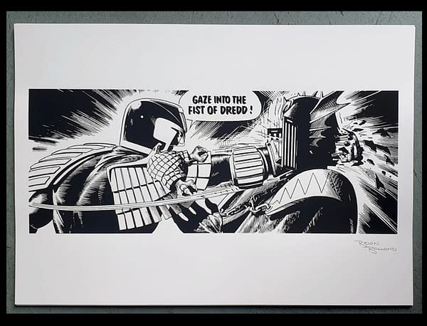Gaze Into Brian Bolland's 200 Signed Prints Of His Most Famous Panel