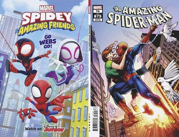 Cover image for AMAZING SPIDER-MAN #74 FERREIRA VAR