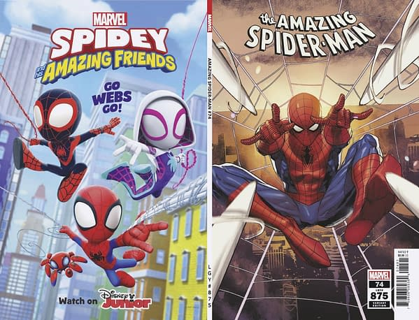 Cover image for AMAZING SPIDER-MAN #74 YU VAR