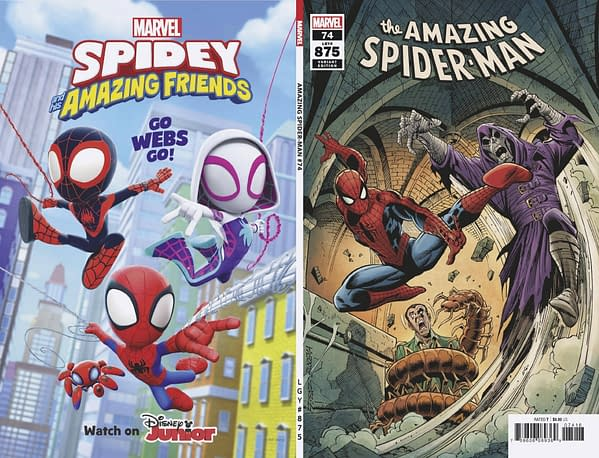 Cover image for AMAZING SPIDER-MAN #74 FRENZ VAR