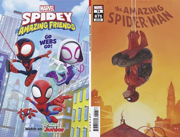 Cover image for AMAZING SPIDER-MAN #74 MALEEV VAR