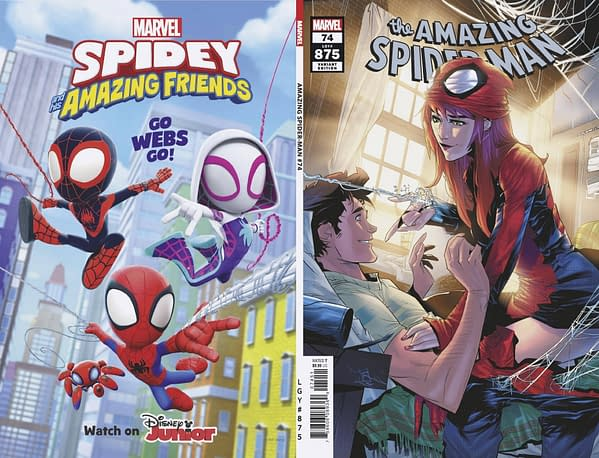 Cover image for AMAZING SPIDER-MAN #74 VICENTINI VAR