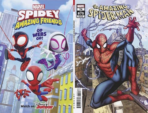 Cover image for AMAZING SPIDER-MAN #74 GOMEZ VAR