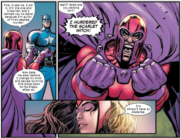 Killing Scarlet Witch Off In Trial Of Magneto? Really? (#2 Spoilers)