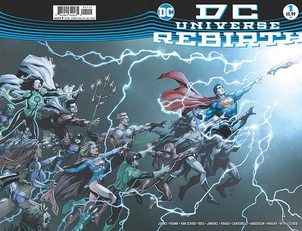 Dc Universe Rebirth 1 Gets A Second Print For 5 99