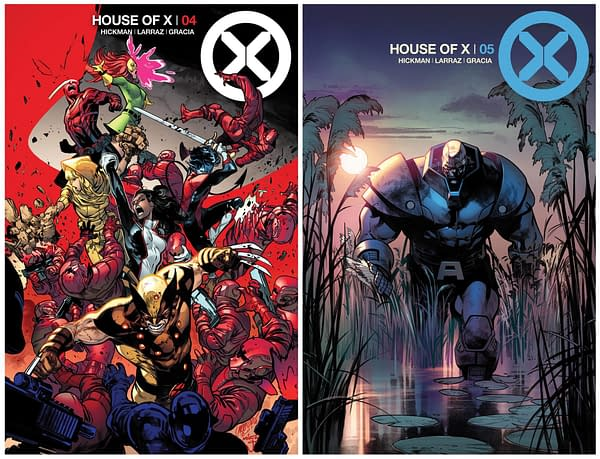 Apocalypse, Sinister and The Xavier Memorial in New House of X and Powers of X Covers and Art