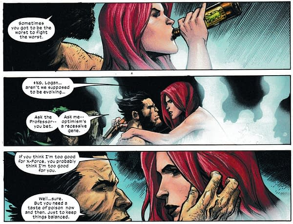 The Ballad of Wolverine and Jean Grey in Today's X-Force #10 (Spoilers).