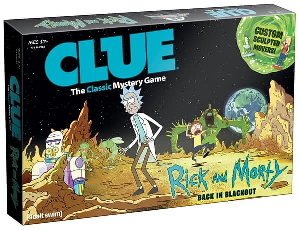 We've Hit The Apex, Morty! A 'Rick And Morty' Version Of Clue Is Coming