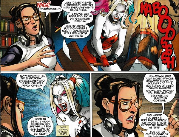 Amanda Conner and Jimmy Palmiotti Say Goodbye to Harley Quinn… if Harley Will Let Them