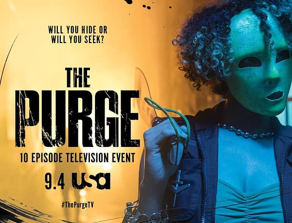 Purge TV Show Poster 1