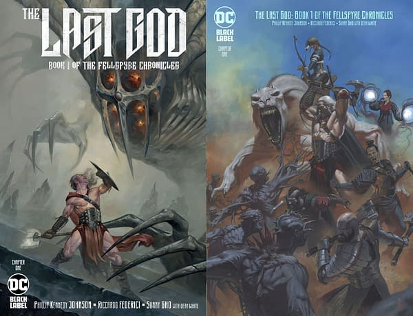 "DC Comics to Overship Philip Kennedy Johnson's ""The Last God: Book One of the Fellspyre Chronicle"""