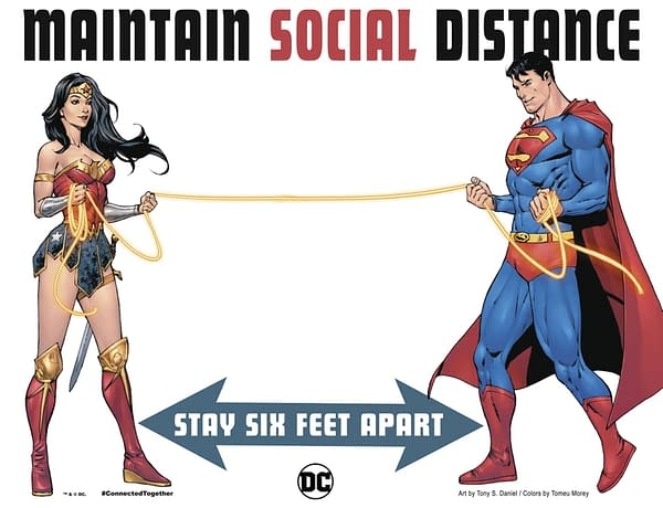 Tell The Truth, Superman, Are You Socially Distancing?