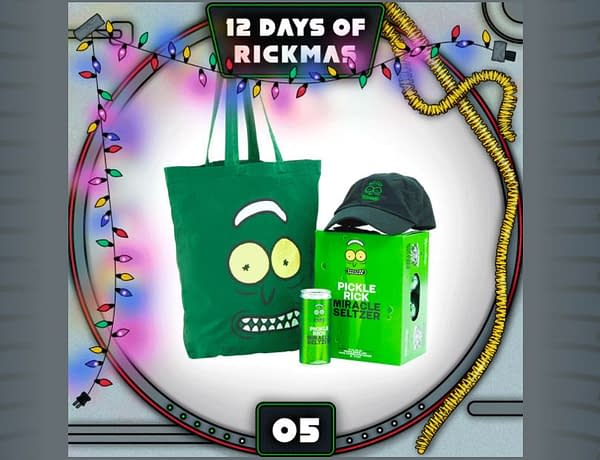 Rick and Morty and Adult Swim's The 12 Days of Rickmas rolls along (Image: screencap)