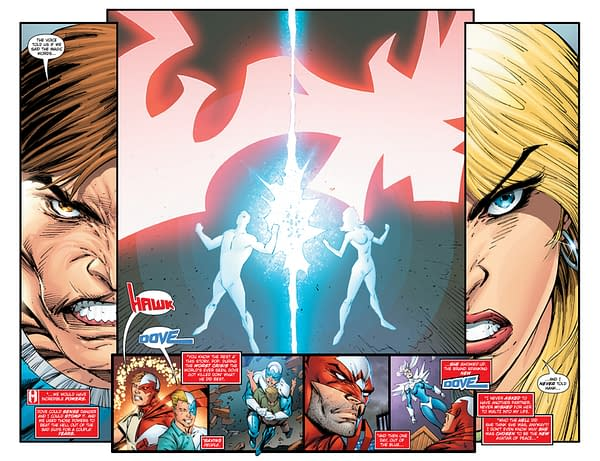 Hawk And Dove Preview Reveals Another Appearance Of The Strange New 52 Woman