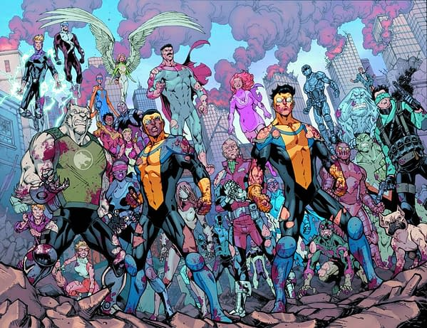 Image Launches The Invincible Universe By Phil Hester And Todd Nauck In April
