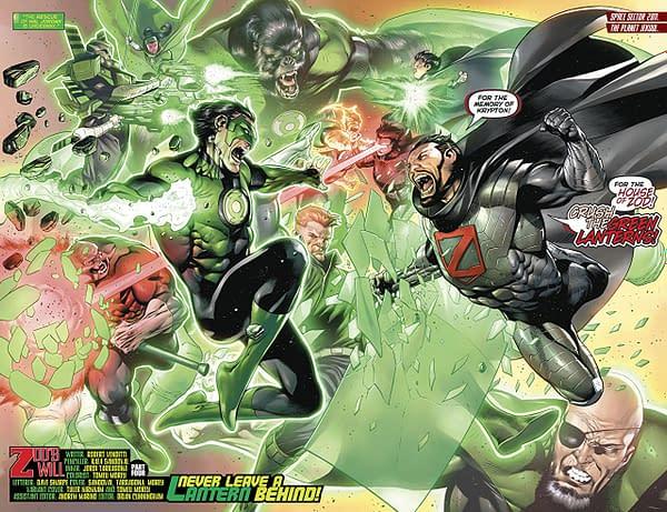 Hal Jordan and the Green Lantern Corps #40 art by Rafa Sandoval, Jordi Tarragona, and Tomeu Morey