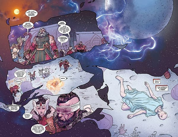 Thor #706 art by Russell Dauterman and Matthew Wilson