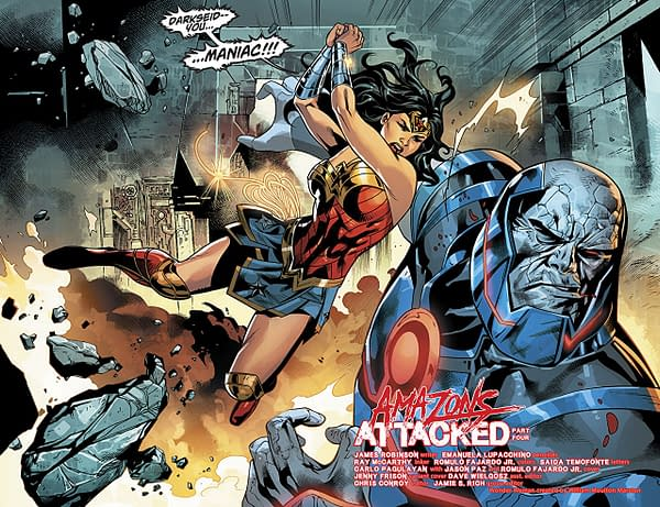 Wonder Woman #44 art by Emanuela Lupacchino, Ray McCarthy, and Romulo Fajardo Jr.