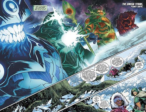 Justice League: No Justice #4 art by Francis Manapul and Hi-Fi