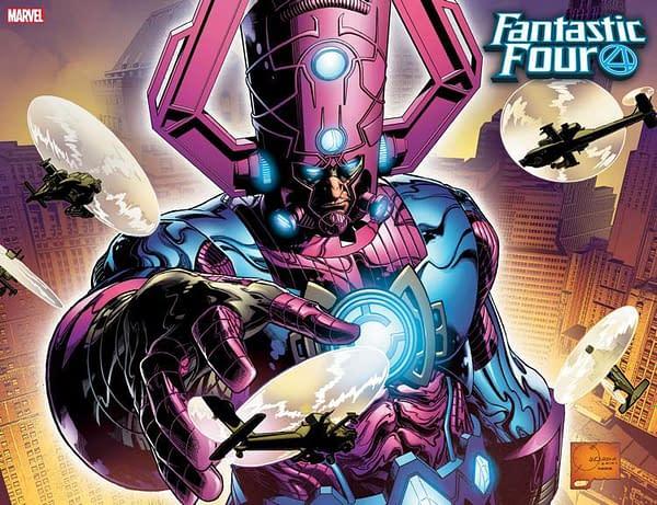 Joe Quesada Draws Galactus for Fantastic Four #1