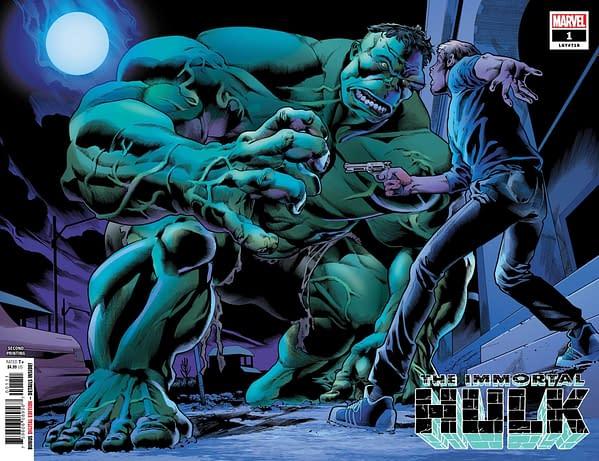 Second Prints for Hulk, X-Men, Deadpool, Doctor Strange and Captain Marvel – Third for Avengers