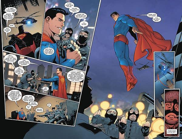 Superman: Action Comics #1001 art by Patrick Gleason and Alejandro Sanchez