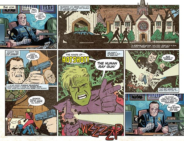 The Immortal Hulk #3 art by Leonardo Romero and Paul Mounts