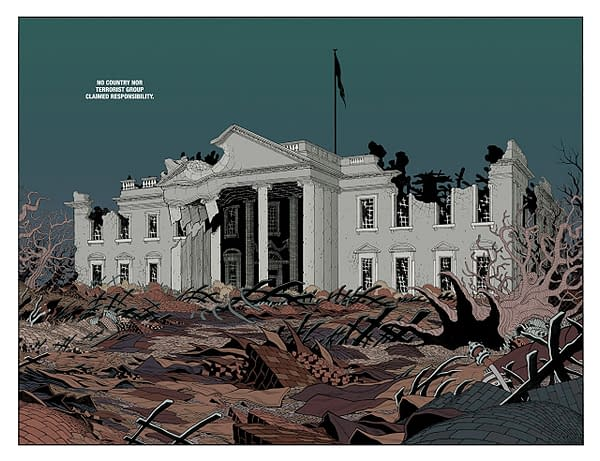 The New World #1 art by Tradd and Heather Moore