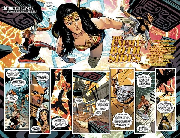 Wonder Woman #53 art by ACO, David Lorenzo, and Romulo Fajardo Jr,