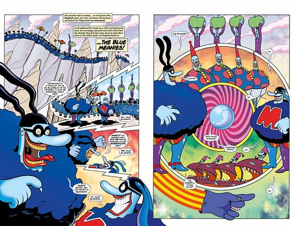 See a Never-Before-Seen Page from Bill Morrison's Yellow Submarine Adaptation, in Stores This Week
