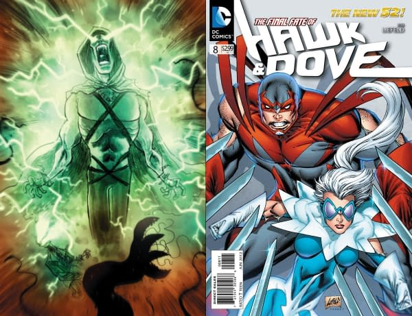 Spectre and Hawk & Dove – New Comics Being Launched by DC
