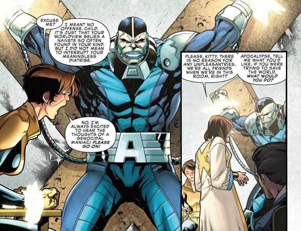 X-Man Argues for Civility in Politics in Next Week's Uncanny X-Men #5