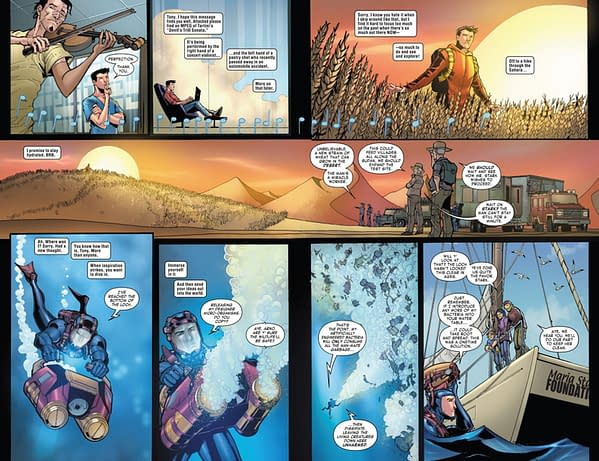 Self-Swipe File: Mark Millar Turns Superman: Red Son Into Prodigy #1 (Spoilers)
