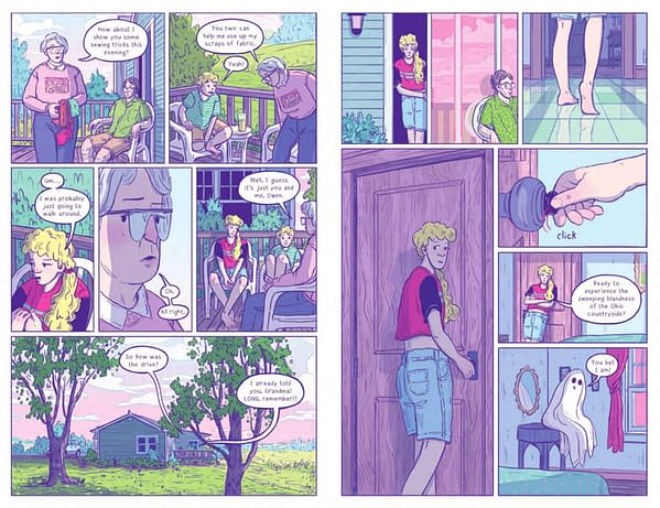 Brenna Thummler's Sheets Sequel, Previewed For Free Comic Book Day 2019